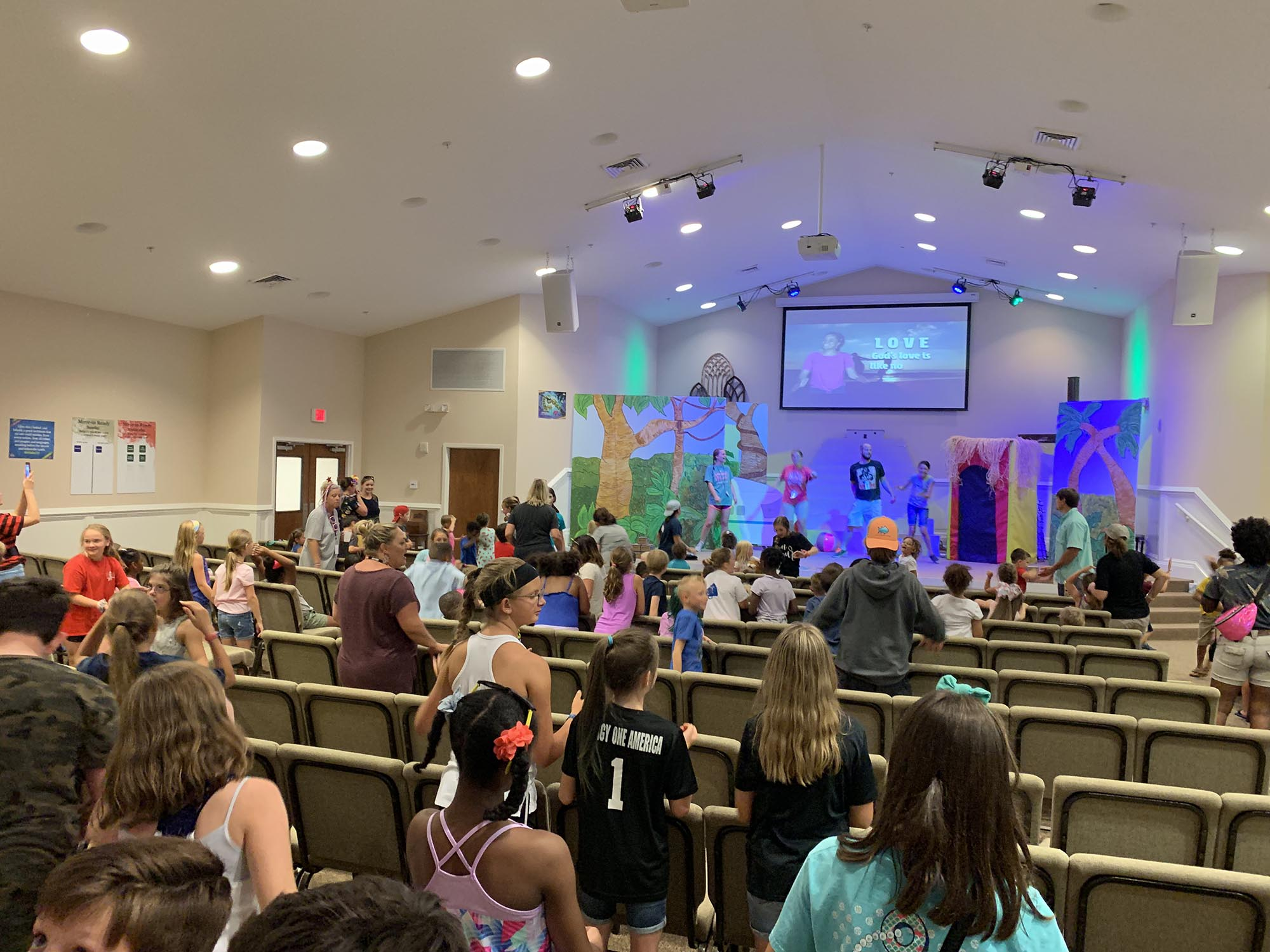 Church at Godley Station VBS